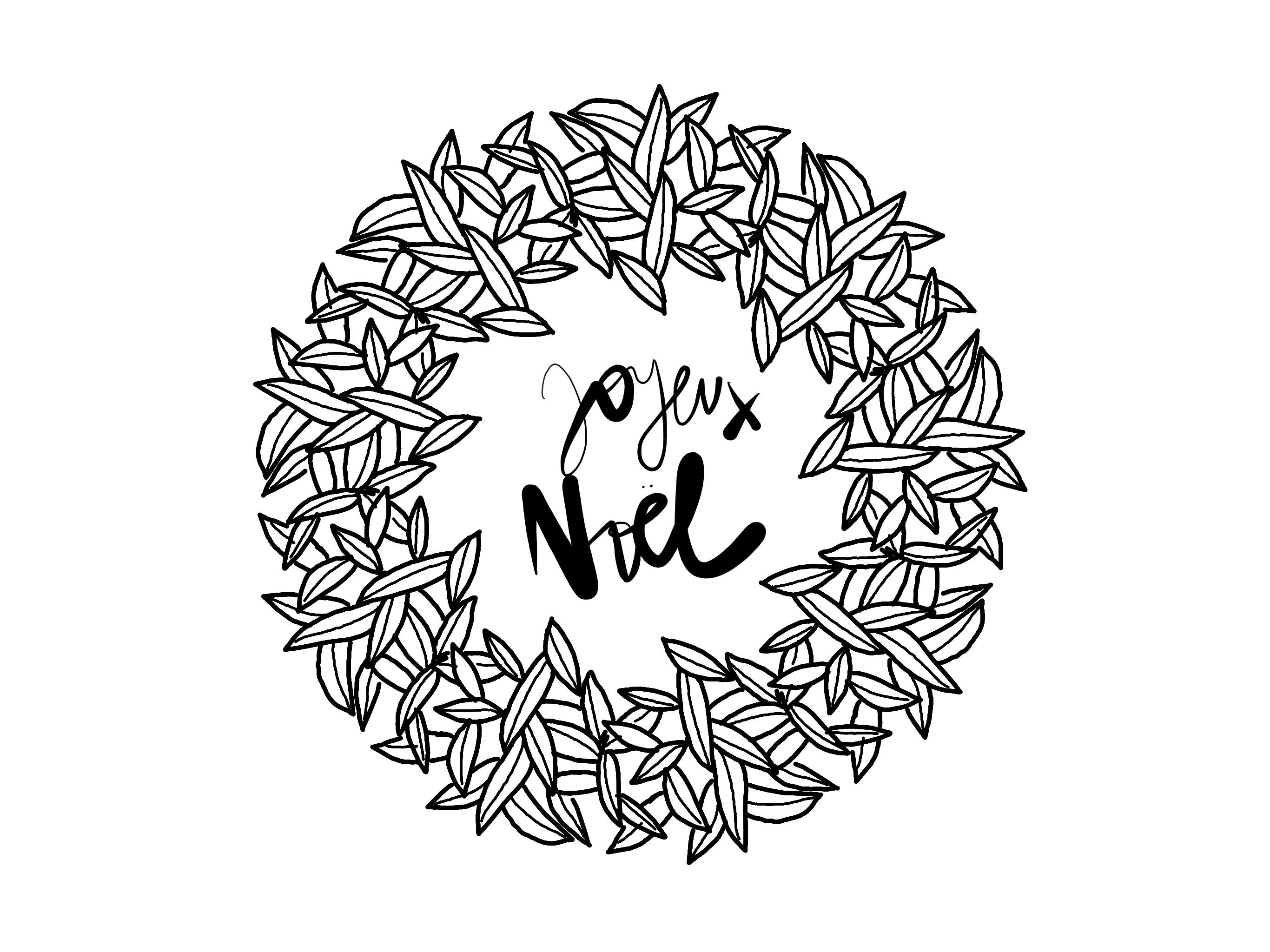 Carte De Noel Elle Vous Propose Une Carte De Noel A Imprimer