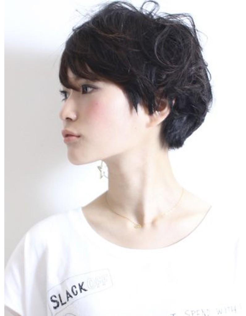 Modèle coiffure cheveux courts hiver 2015 - Les plus belles coupes courtes de Pinterest - Elle