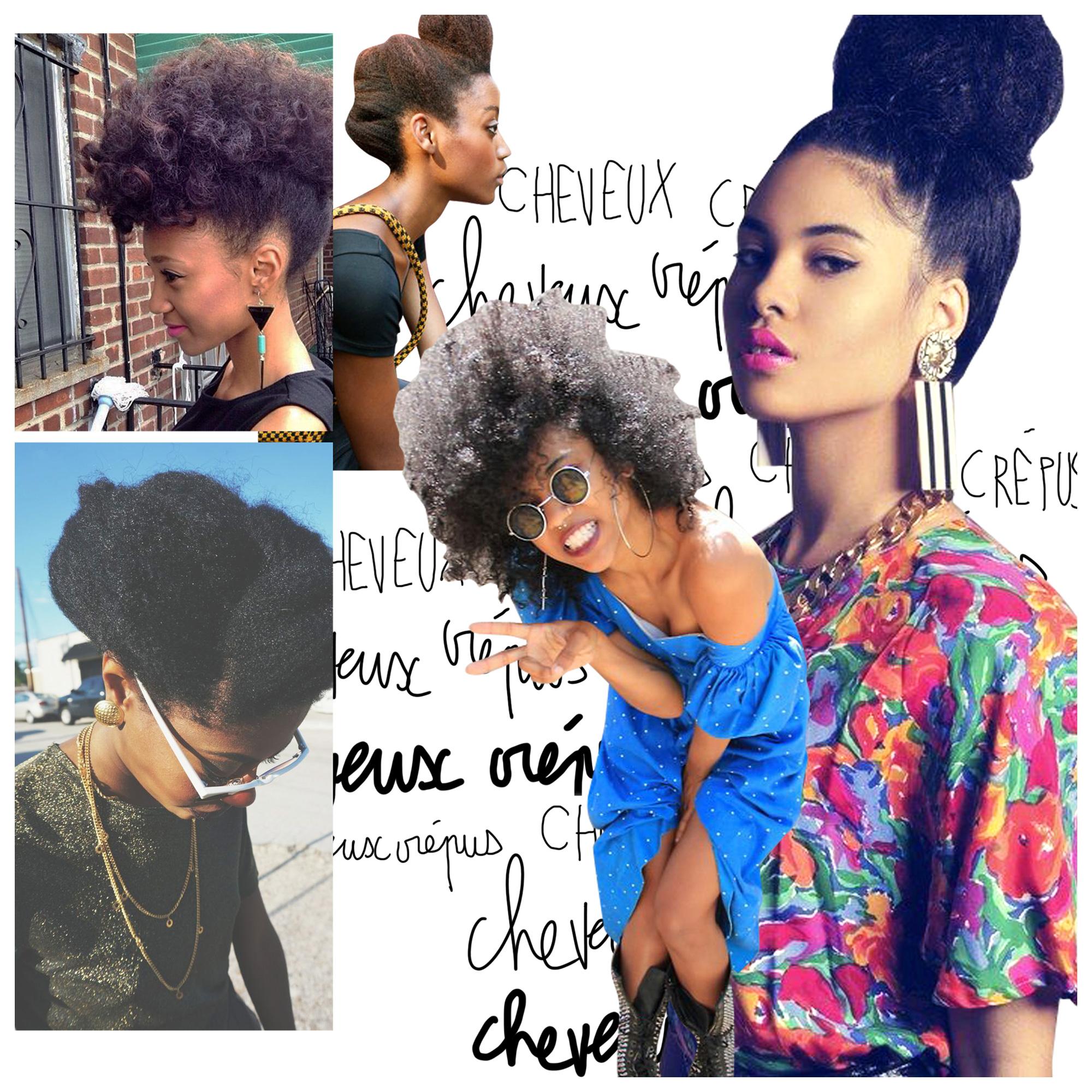 Cheveux Crepus 20 Idees De Coiffures Pour Cheveux Crepus Elle