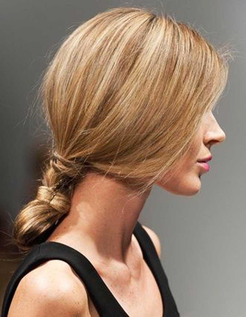Cheveux fins en chignon - 30 coiffures pour les cheveux fins - Elle