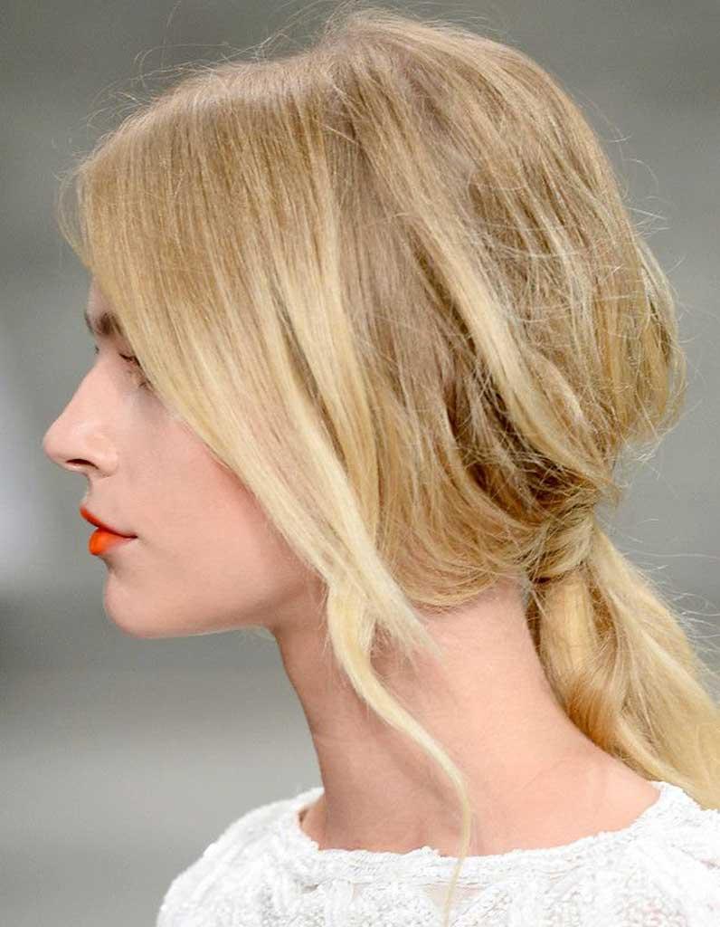 Coiffure Cheveux Fins Mi Longs 30 Coiffures Pour Les Cheveux Fins Elle