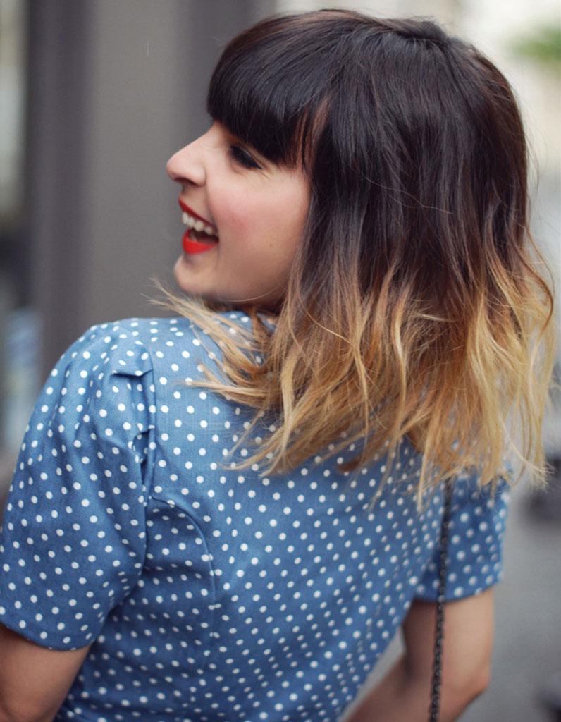 le tie dye sur un carr wavy cheveux wavy les 30 plus belles photos pinterest elle. Black Bedroom Furniture Sets. Home Design Ideas
