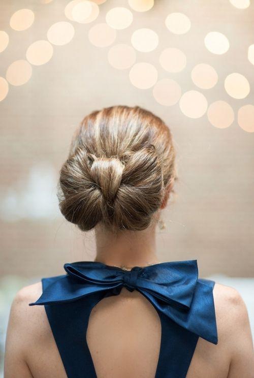 coiffure mariage invit e 40 coiffures de mariage rock ou sages elle. Black Bedroom Furniture Sets. Home Design Ideas