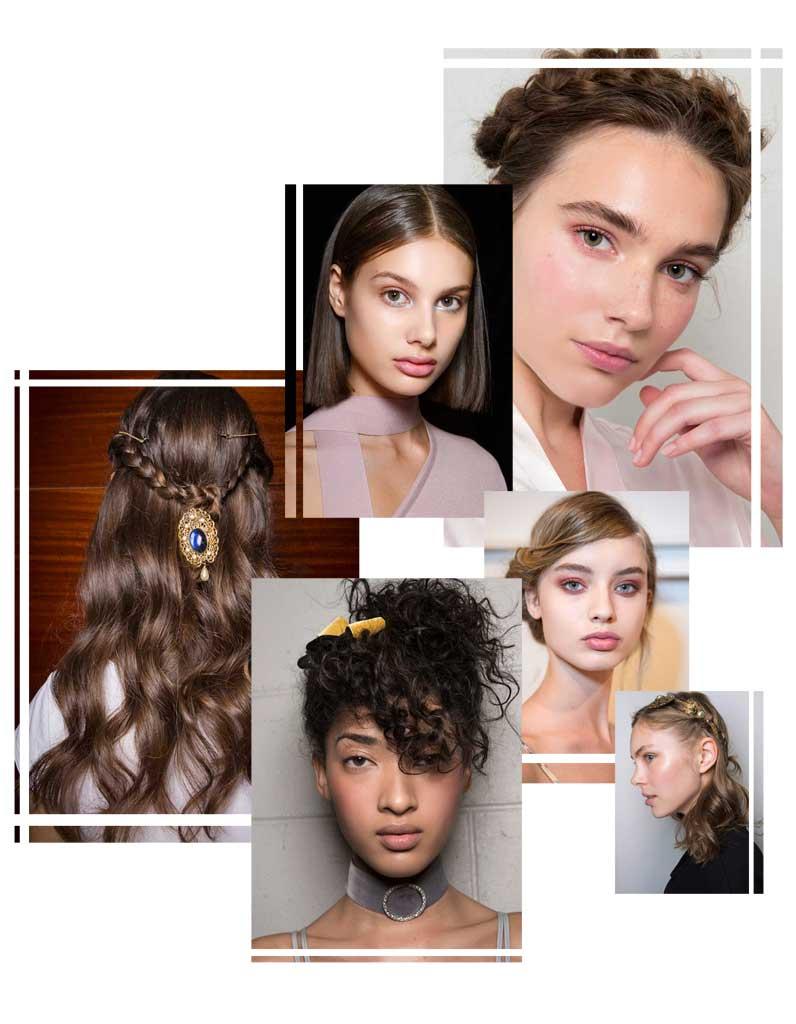 les plus jolies coiffures de noël - elle