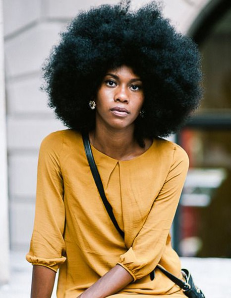 Coiffure afro am ricaine femme hiver 2015 coiffures afro - Coiffure afro fille ...