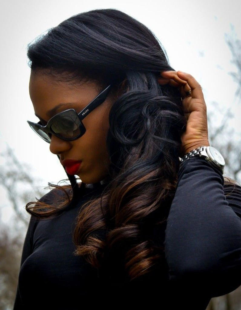 Coiffure afro mariage hiver 2015 coiffures afro les filles styl es donnent le ton elle - Coiffure afro fille ...