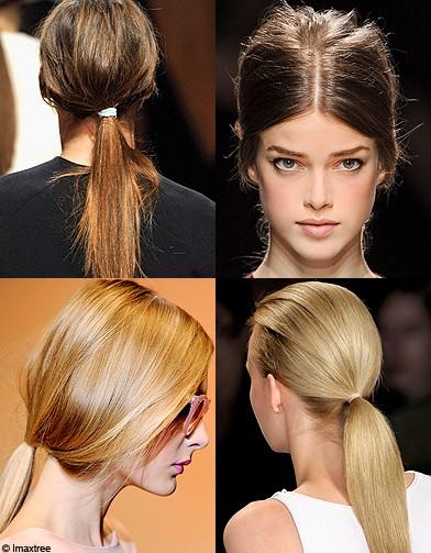 beaute cheveux coiffure tendances printemps queue de cheval wasp coiffures les 5 tendances. Black Bedroom Furniture Sets. Home Design Ideas