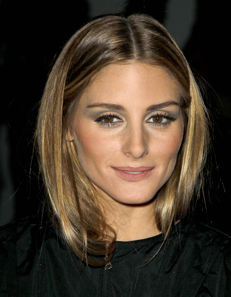 les cheveux ch tain clair d 39 olivia palermo ind modable. Black Bedroom Furniture Sets. Home Design Ideas
