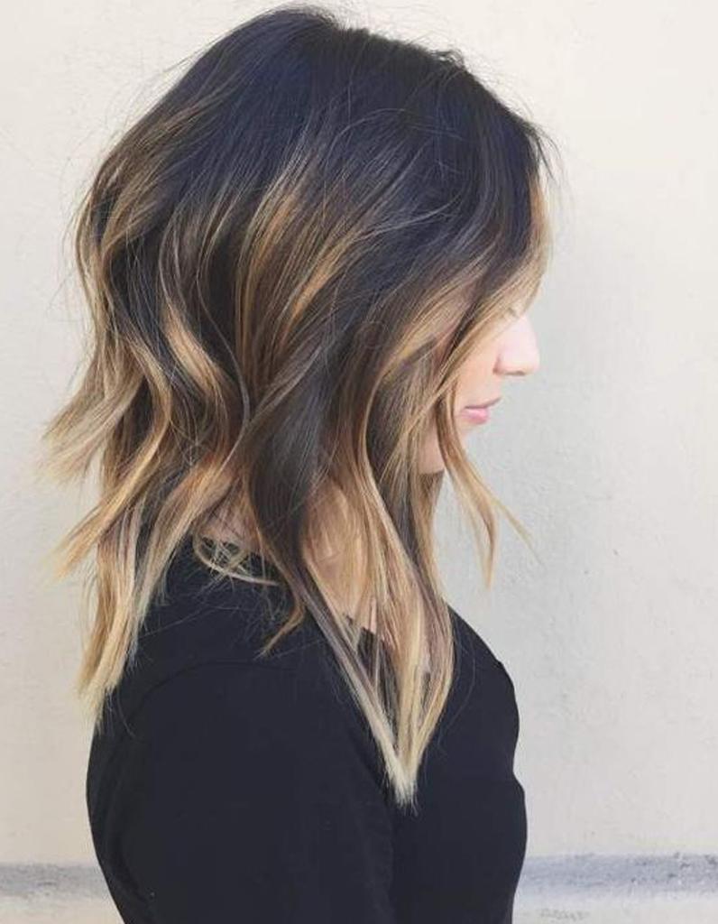 Ombré hair carré , Ombré hair  les plus beaux dégradés de couleur , Elle