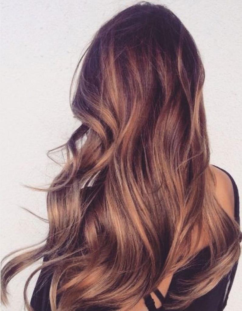 Ombré hair chocolat , Ombré hair  les plus beaux dégradés de couleur , Elle