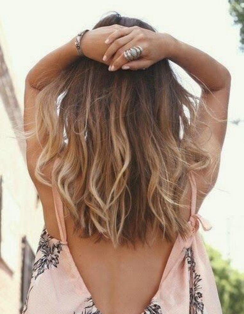 Ombré hair discret , Ombré hair  les plus beaux dégradés de couleur , Elle