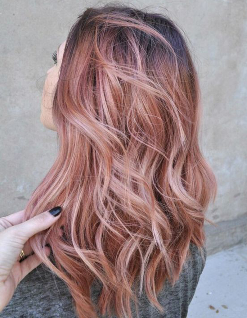 Ombre Hair Rose Gold Ombre Hair Les Plus Beaux Degrades De