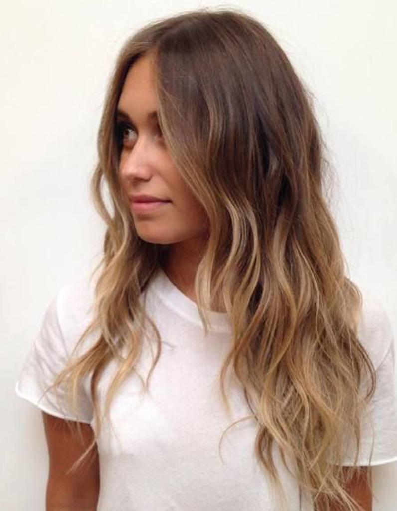 Ombré hair tendance , Ombré hair  les plus beaux dégradés de couleur , Elle