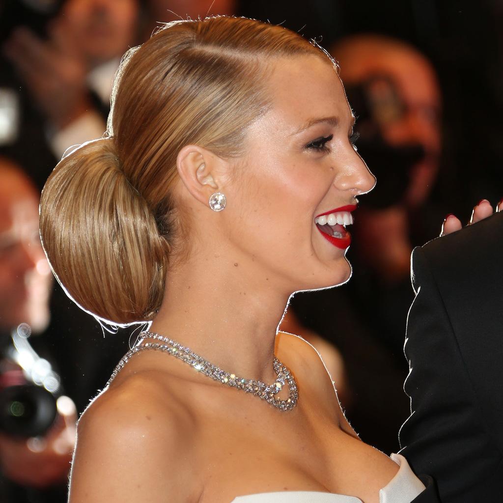 Le chignon glamour de Blake Lively - Ces chignons de stars qui nous inspirent... - Elle