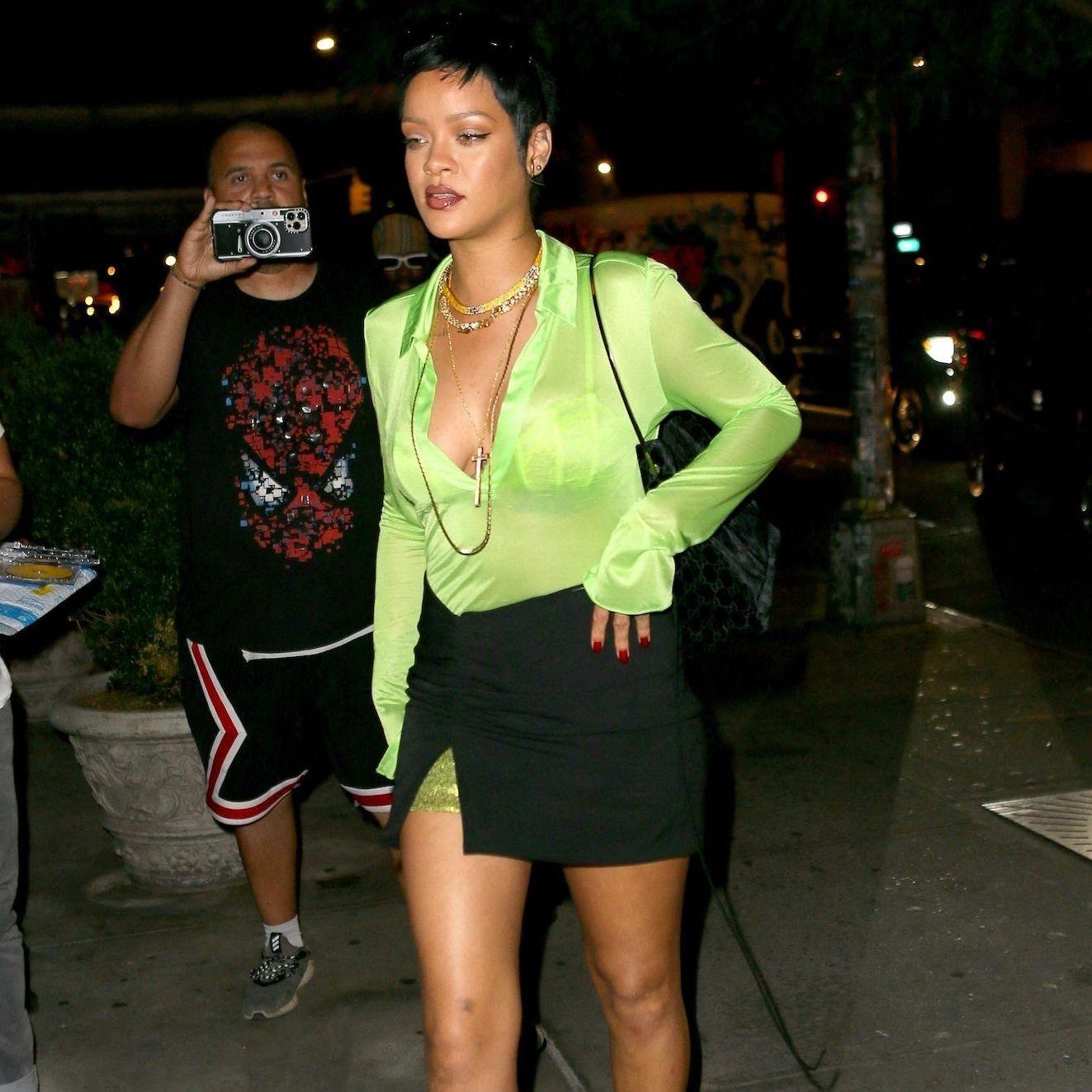 Rihanna invente une nouvelle coupe de cheveux sur Instagram - Elle