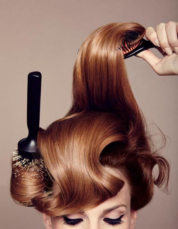 comment se coiffer vite