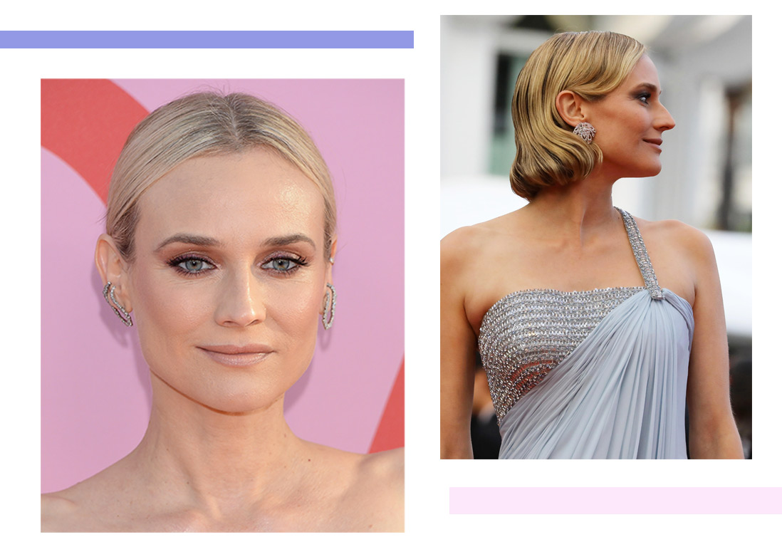 Diane Kruger : ses coiffures qui nous inspirent