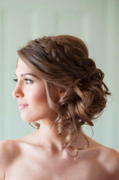 Coiffure de mariée boucles , Les plus jolies coiffures de mariée pour  s\u0027inspirer , Elle