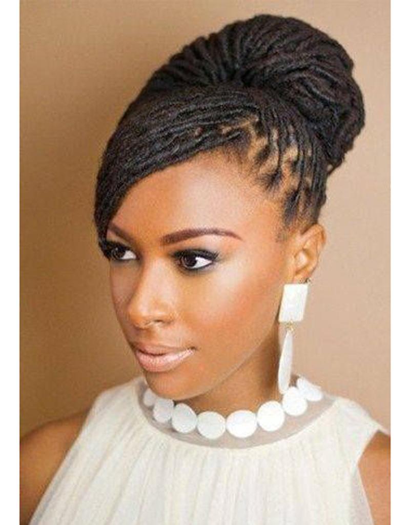 Coiffure de mariée Locks chics , Les plus jolies coiffures de mariée pour  s\u0027inspirer , Elle