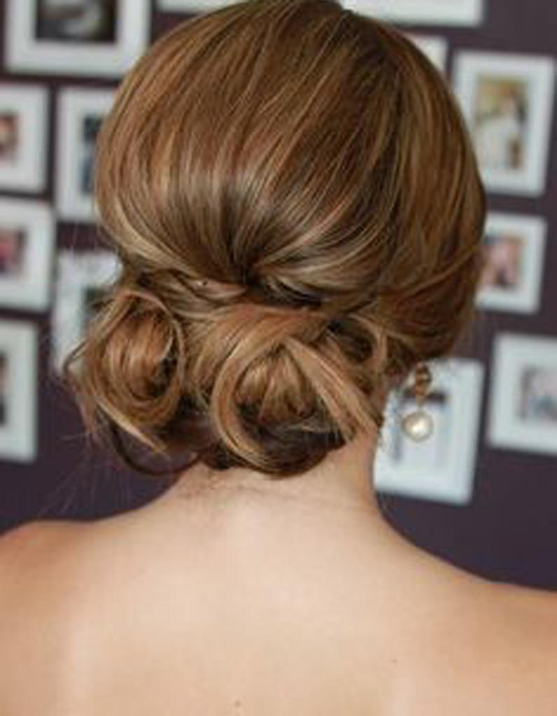 Coiffure mariée chignon bas , Les plus jolies coiffures de mariée pour  s\u0027inspirer , Elle