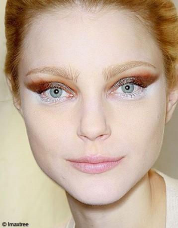 Maquillage marron optez pour le maquillage marron pour - Maquillage grand yeux ...