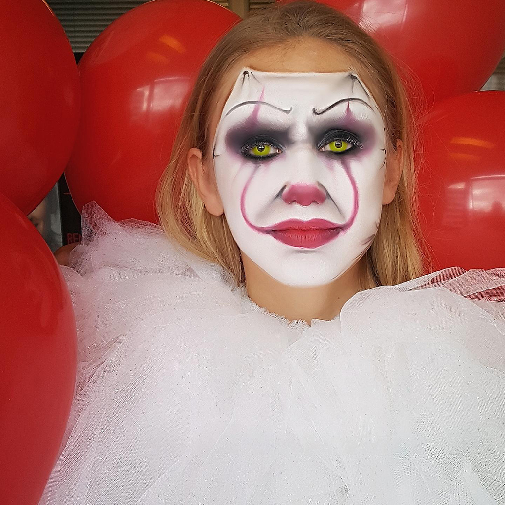 comment faire le maquillage du clown  u00c7a
