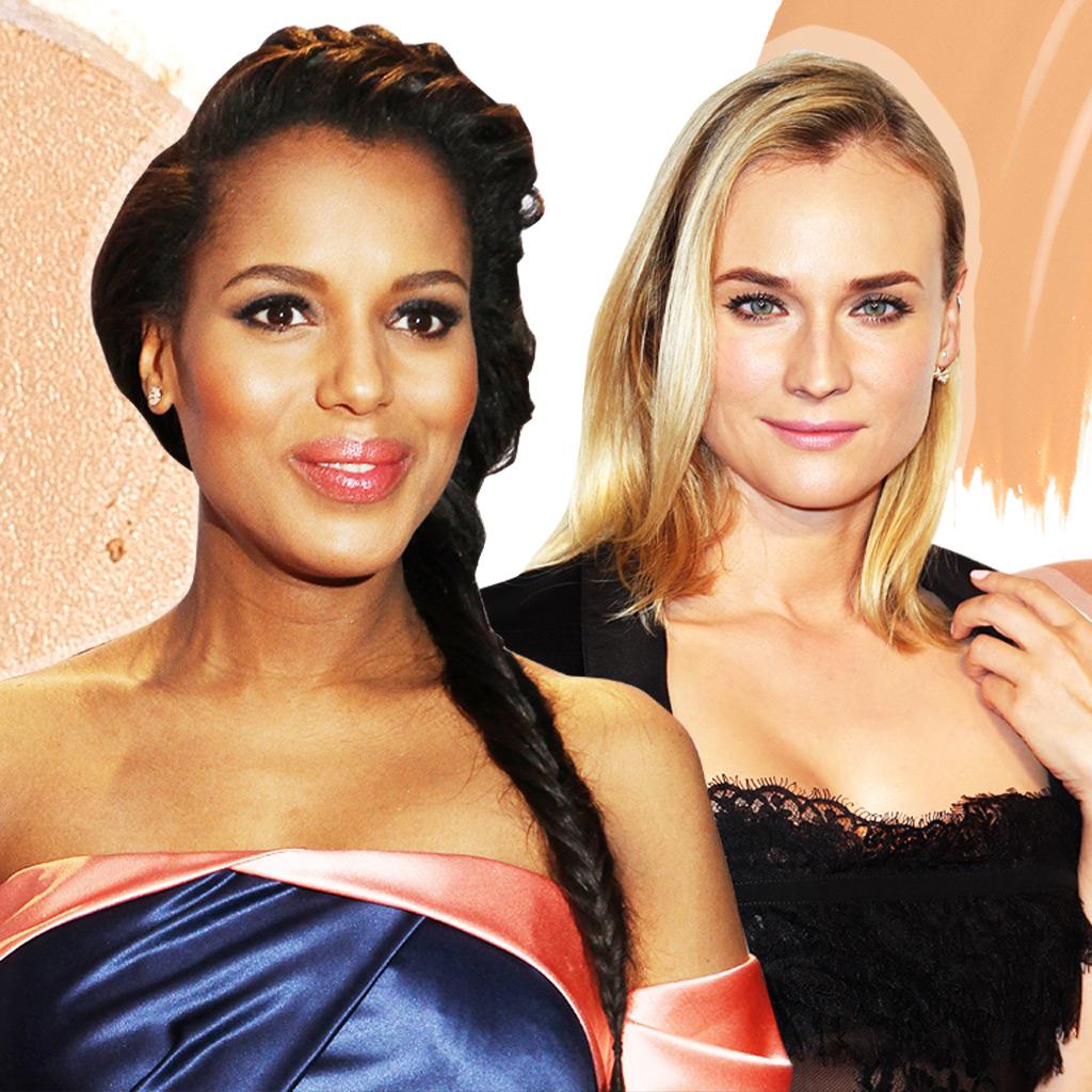 Le maquillage nude des peaux claires comme Diane Kruger