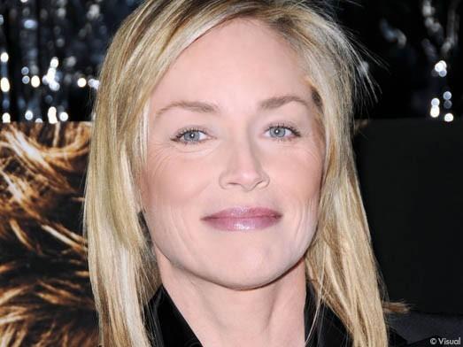 """Les stars mises à """"Nude"""" Sharon Stone Zoom"""