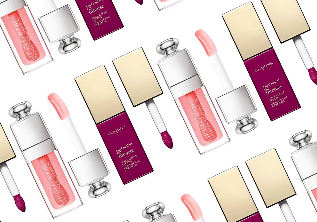 Huile pour les lèvres : le bon compromis entre maquillage et soin - Elle