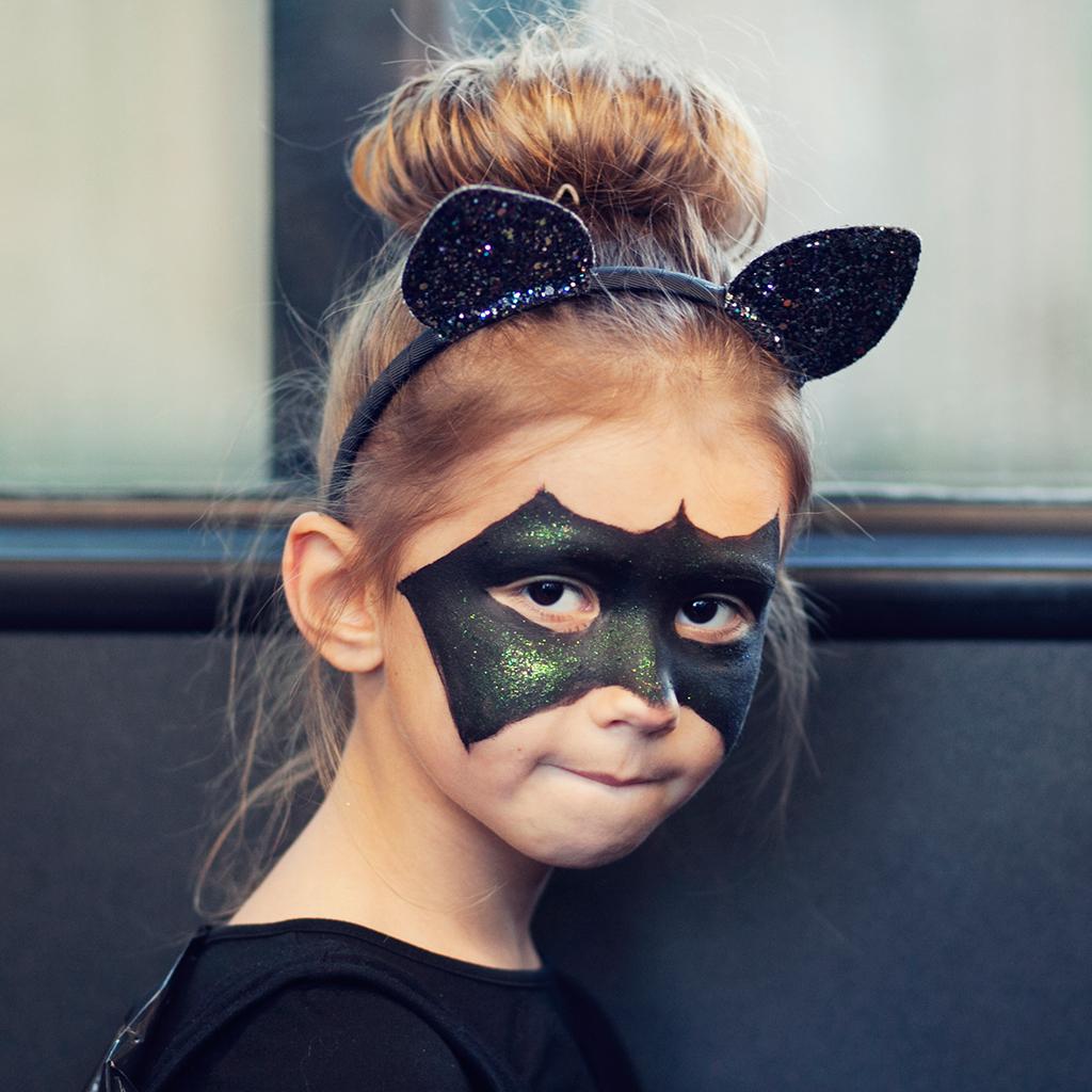 10 Maquillages Dhalloween Pour Enfants Adorables Ou Terrifiants Elle