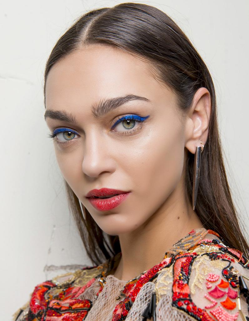 Les Plus Beaux Maquillages De Noel Elle