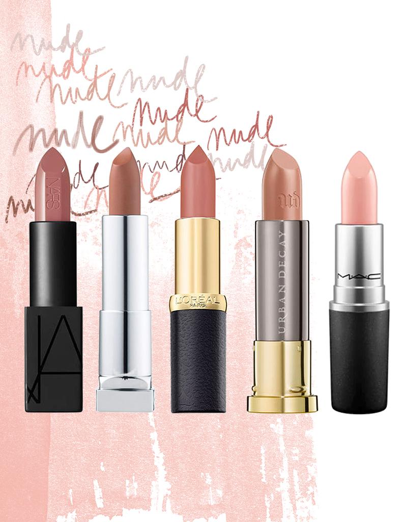 Les Plus Beaux Rouges à Lèvres Nude Elle