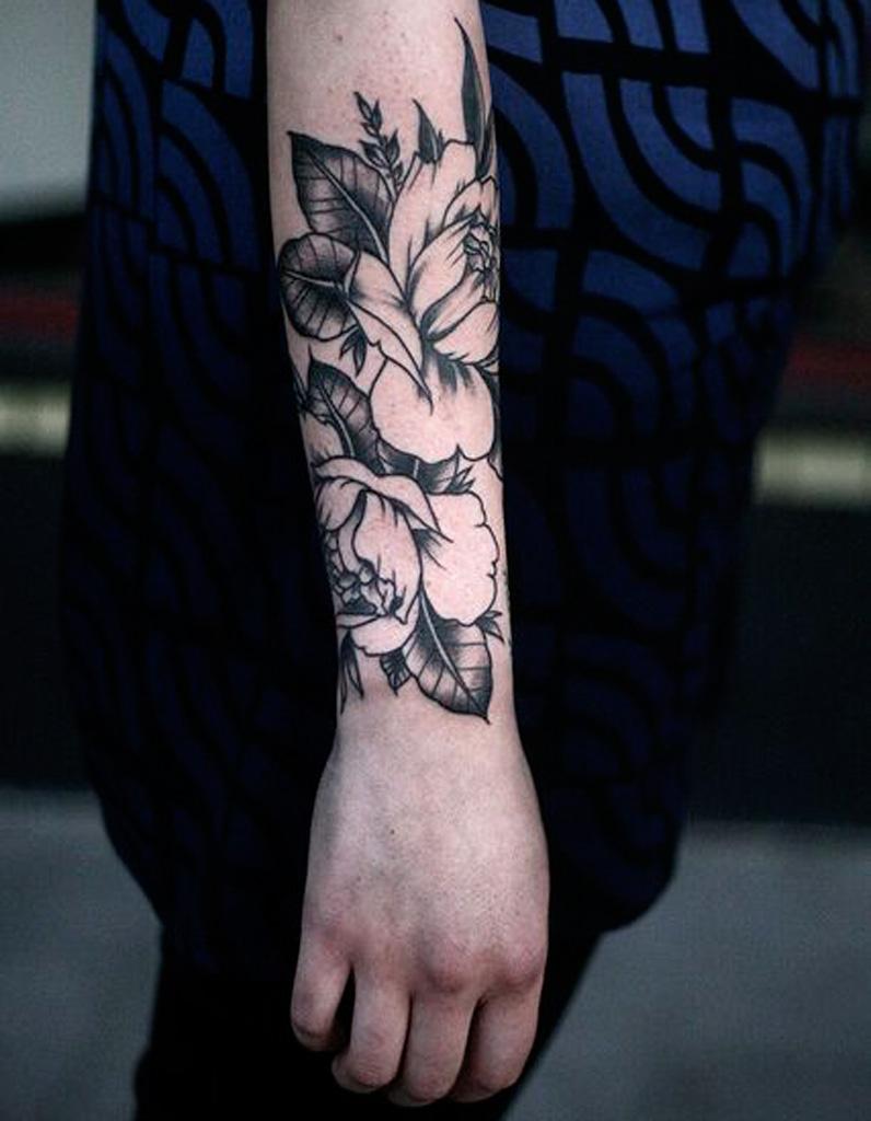 Tatouage Fleur Avant Bras 20 Tatouages Fleuris Qui Font Envie Elle