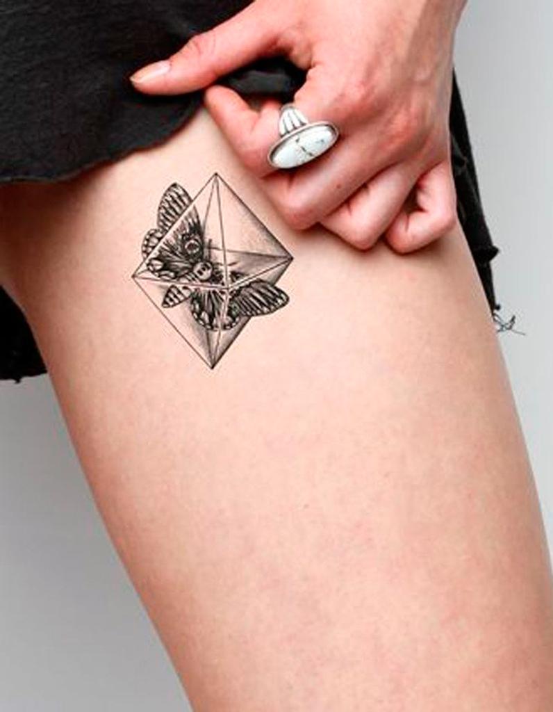tatouage papillon cuisse tatouage papillon 20 jolies. Black Bedroom Furniture Sets. Home Design Ideas