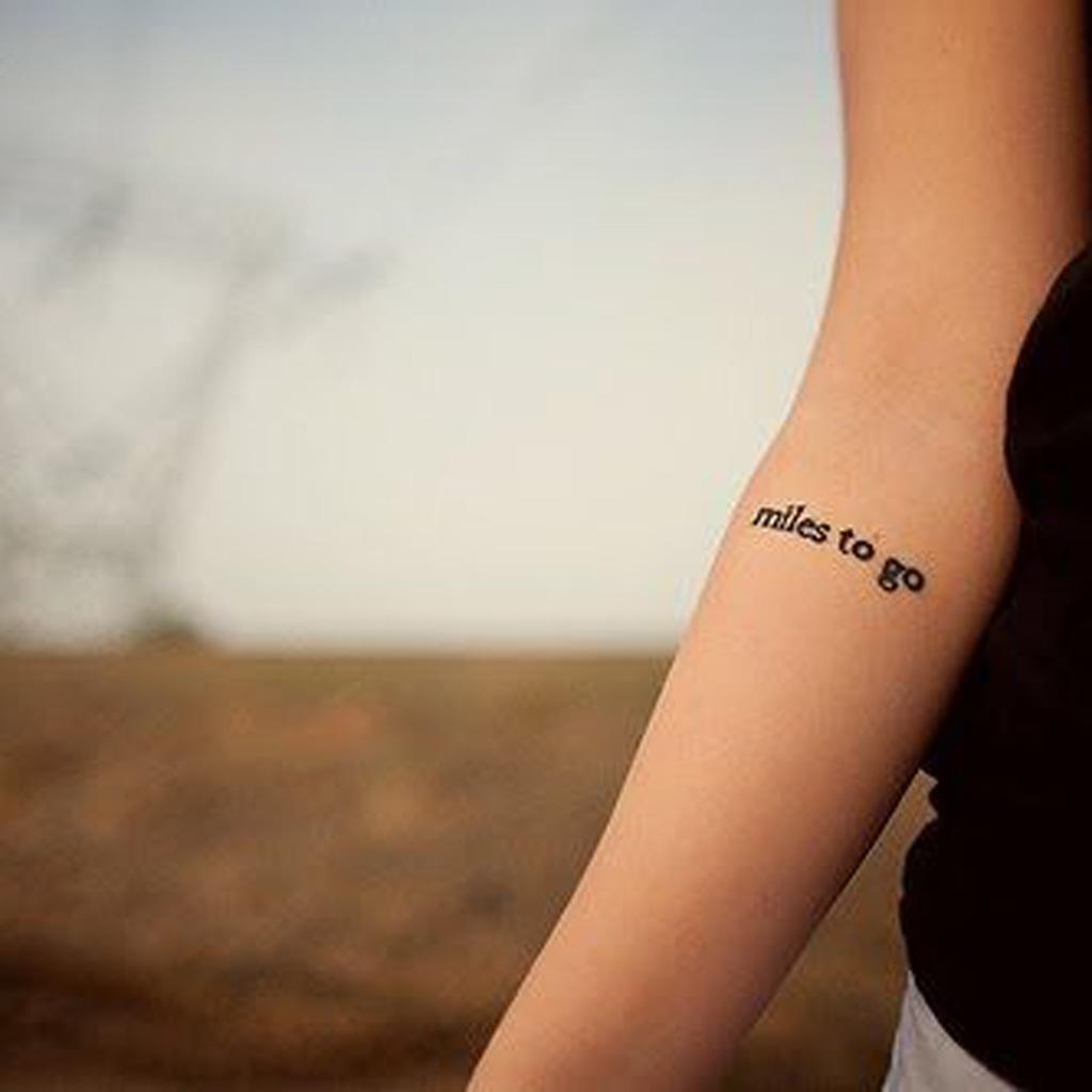 Tatouage phrase à l\u0027intérieur du bras , 30 jolis messages à se faire tatouer  , Elle