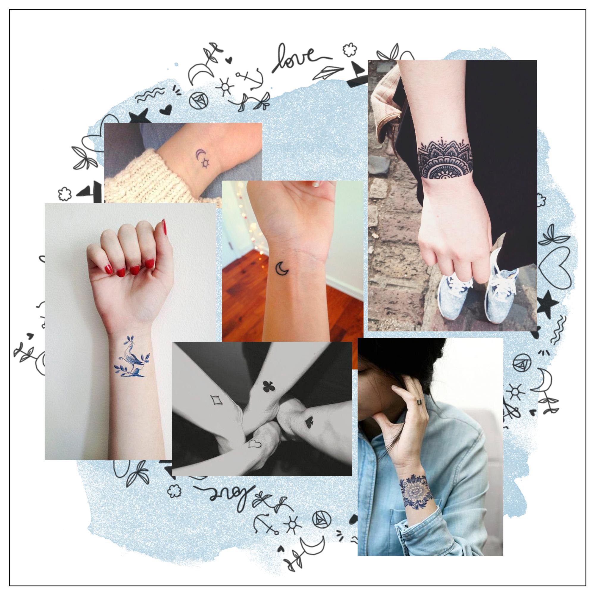 Modele bracelet femme tatoo