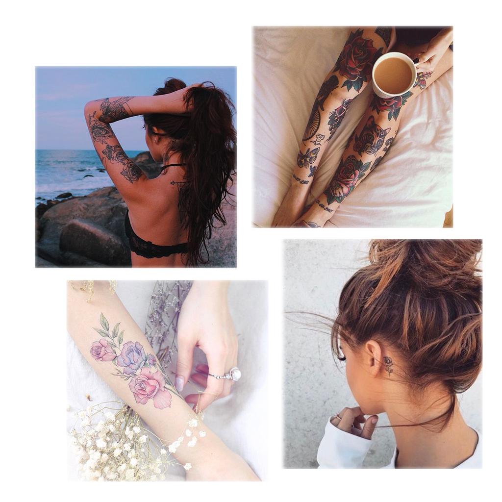 Les Plus Beaux Tatouages De Rose Elle