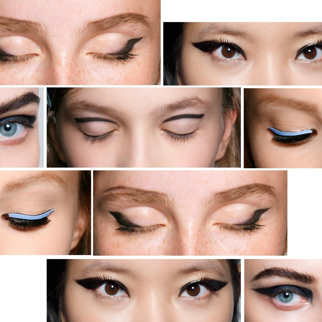 le liner graphique tendances maquillage printemps t les 15 make up qui feront 2015 elle. Black Bedroom Furniture Sets. Home Design Ideas