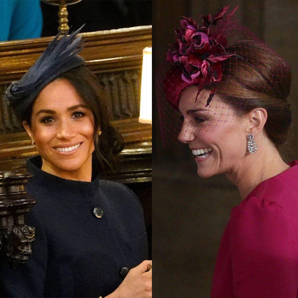 Kate Middleton Et Meghan Markle Renversantes Au Mariage De