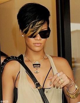 Coiffure Femme Coiffure Rihanna
