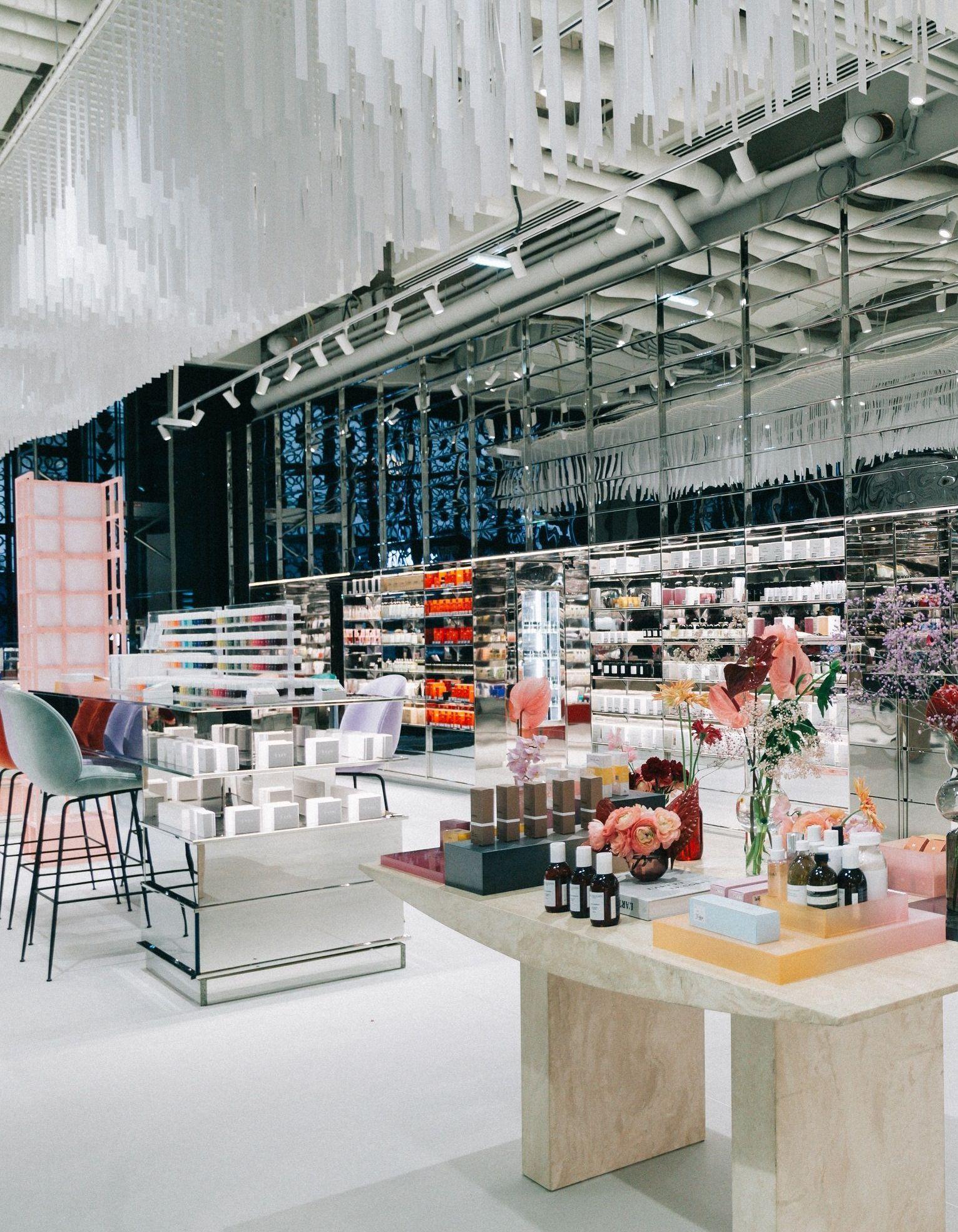 Beauté EllebeautyspotL'espace Lafayette Des Galeries Champs rCshQdtx