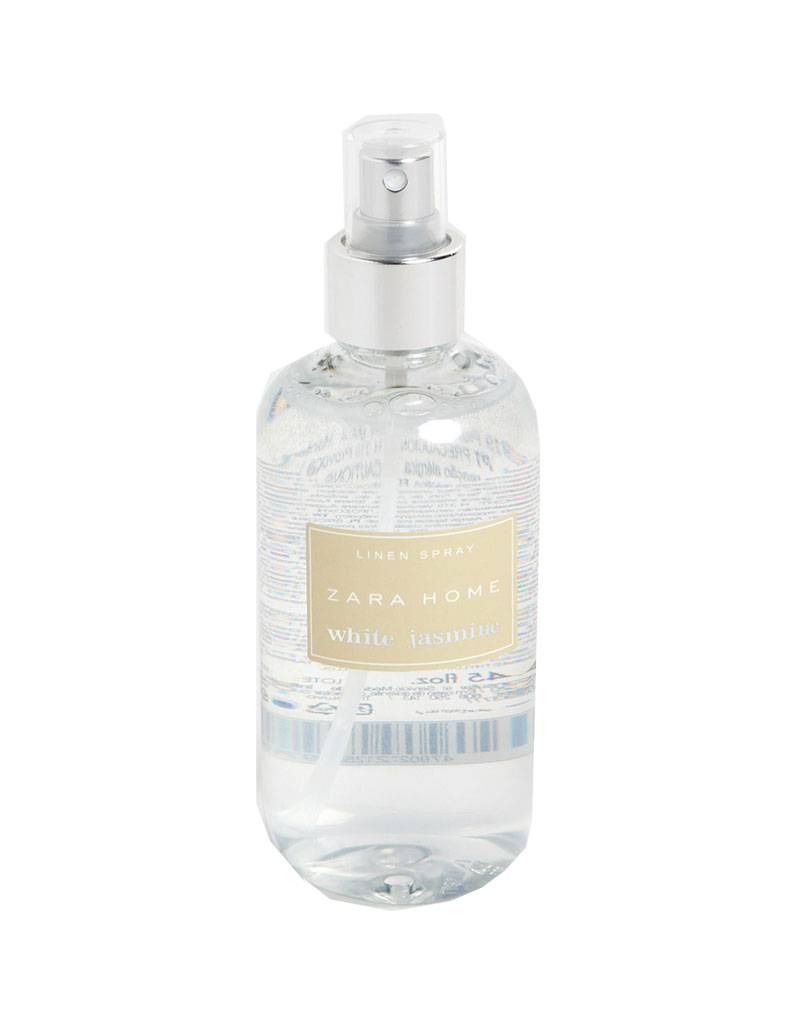 Linen Spray White Jasmine Zara Home 1199 250 Ml 12 Eaux De