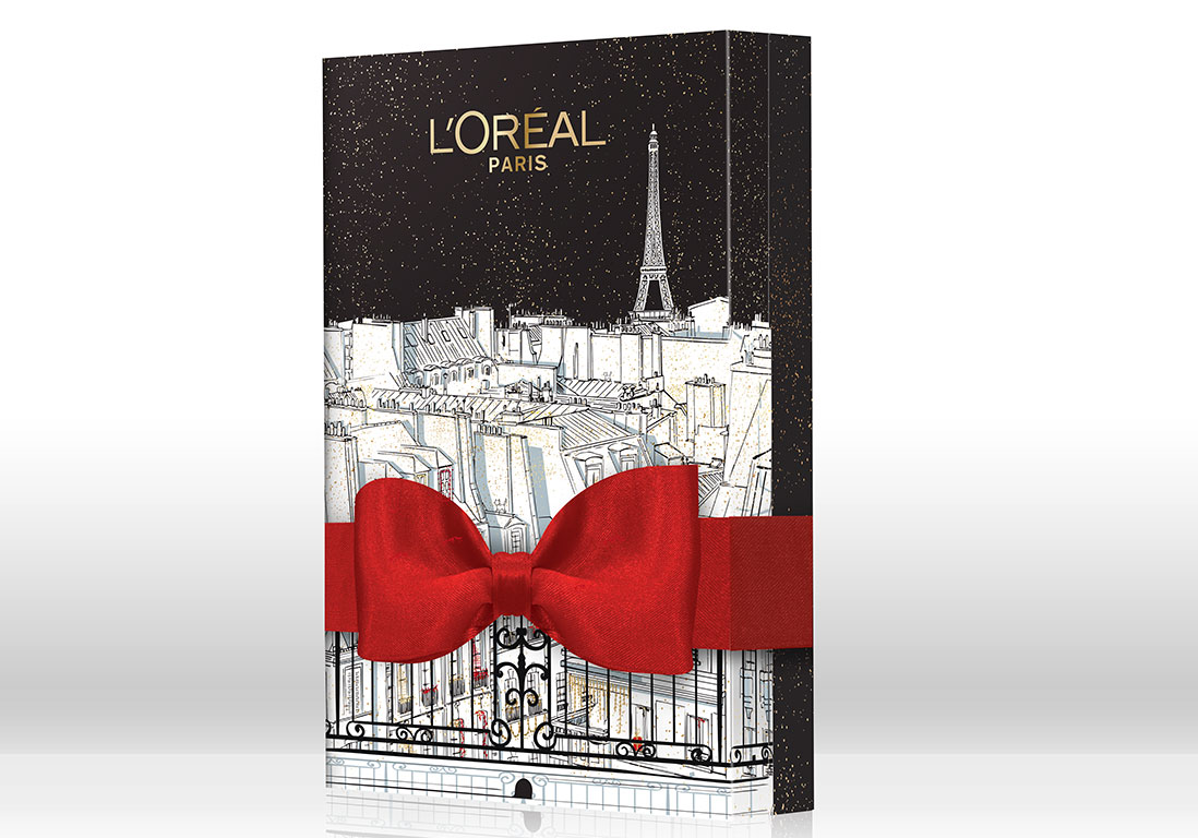 Calendrier de l'Avent L'Oréal Paris   24 calendriers de l'Avent