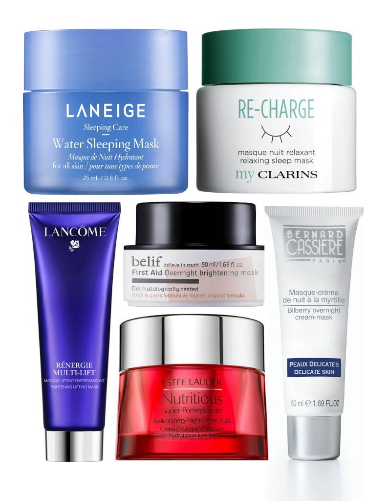 gamme complète d'articles Prix 50% les clients d'abord Les meilleurs masques de nuit pour le visage du moment - Elle