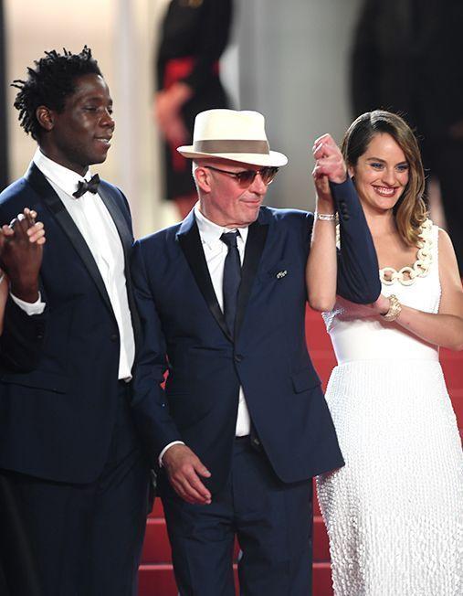 Cannes 2021 : Jacques Audiard et le casting du film « Les Olympiades », captivants face à Tilda Swinton et Mélanie Laurent - Elle