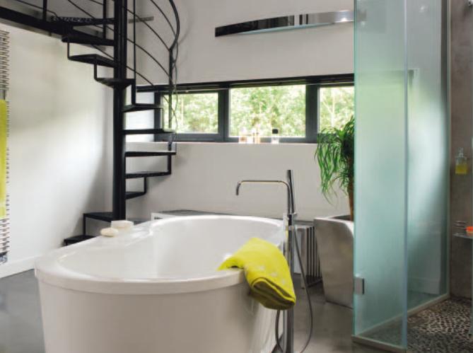 8 salles de bains à vivre - Elle Décoration