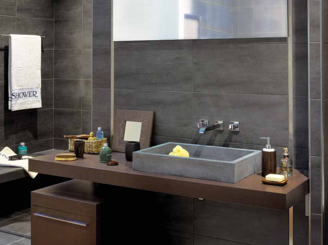 Salles de bains: belles au naturel - Elle Décoration