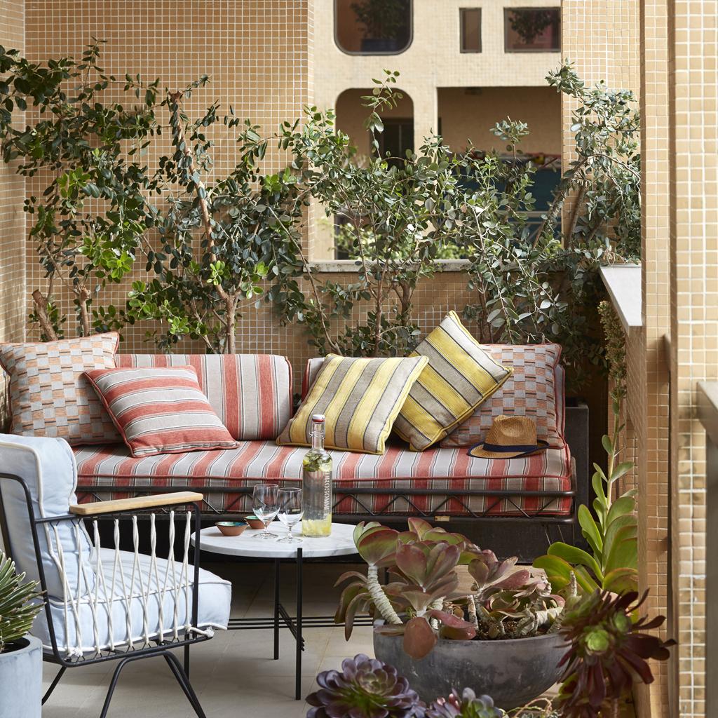 19 idées pour aménager un petit balcon - Elle Décoration