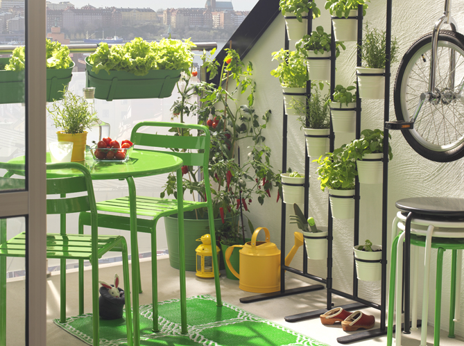 Am nagez votre balcon pour un espace fleuri et d co elle d coration - Decoration pour jardin exterieur ...