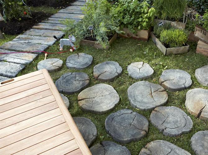 6 bonnes id es d co pour une all e de jardin elle d coration - Deco exterieur jardin ...